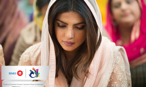 International star Priyanka Chopra mesmerizes fans at BMO IFFSA Toronto