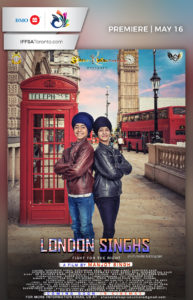 London Singhs Poster 2